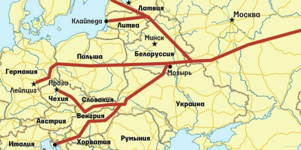 Конец Польскому процветанию. Россия перекрыла нефтяной кран